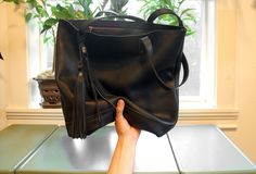 The Panama Tote | In Black by  Arc of a Diver