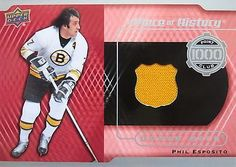 2014-15-Upper-Deck-Phil-Esposito-A-Piece-of-History-1000-Point-Club-Jersey-14-15