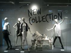 Mango windows, Jakarta visual merchandising  #www.instorevoyage.com #in-store marketing #visual merchandising