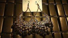 Bohemian Gothic Design Chandelier Dangle Fashion Earrings