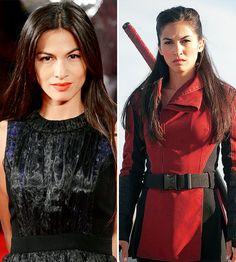 Elektra played by Elodie Yung Daredevil season 2.