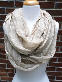 Blu Pepper Infinity Scarf $22.00 ShopBloved, Live Laugh and Bloved