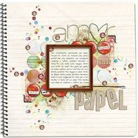 A Project by Dani Alencar from our Scrapbooking Gallery originally submitted 12/02/09 at 03:17 PM
