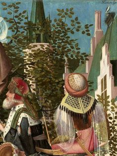Attributed to Geertgen tot Sint Jans (ca. The Tree of Jesse, c. 1500 (detail) oil on panel, h × w Museum Boijmans Van Beuningen, Rotterdam Tree Of Jesse, Medieval Manuscript, Renaissance Art, 15th Century, Rotterdam, Dutch, Museum, Van, Detail