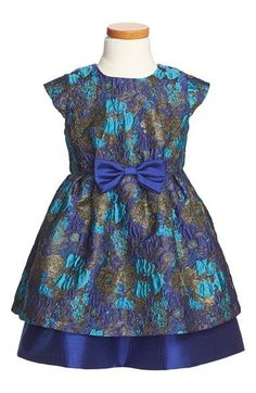 Pippa & Julie Pippa & Julie Jeweled Brocade Dress (Toddler Girls, Little Girls & Big Girls) available at #Nordstrom