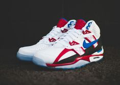 Nike Air Trainer SC High QS Le White Game Royal Gym Red (2)