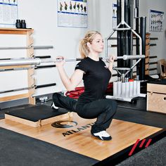 When Performing the Bulgarian Split Squat, Only Elevate the Back Leg 4-6 Inches - Poliquin Group