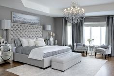 Glam Master Bedroom & Kimmberly Capone Interior Design Glam Master Schlafzimmer & Kimmberly Capone Interior Design The post Glam Master Schlafzimmer & Kimmberly Capone Interior Design & DIY BEDROOM appeared first on Master bedroom ideas . Glam Master Bedroom, Master Bedroom Design, Home Decor Bedroom, Girls Bedroom, Bedroom Furniture, Bedroom Wardrobe, Relaxing Master Bedroom, Simple Bedroom Design, Bedroom Colors