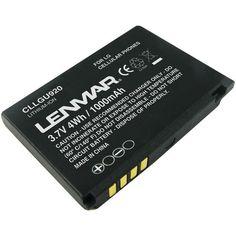 Replacement Battery for LG Vu CU920, Renoir KC910, Viewty KU990 Cellular Phone