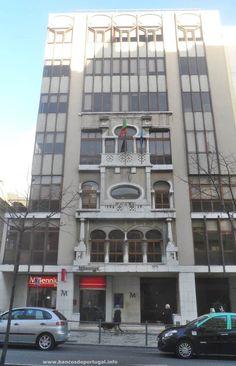 Agência Millennium na Avenida Almirante Reis em Lisboa
