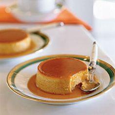 Double-Ginger Pumpkin Flans Recipe | CookingLight.com