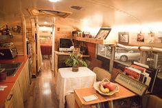 Love it.  Converted school buses make great tiny houses!
