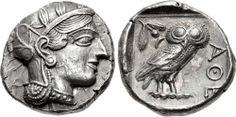 COIN, Athens. Circa 454-404 BC. AR Tetradrachm (24mm, 17.25 g, 1h).
