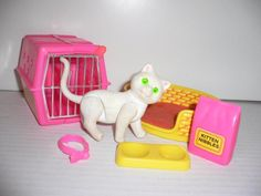 Luxury Mattel Barbie Katze Fluffy mit Zubeh rZustand Sehr gut normale leichte u