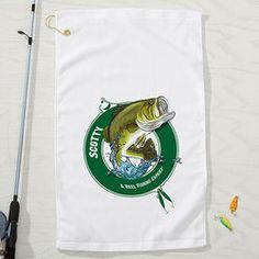 Personalized Fisherman Towel