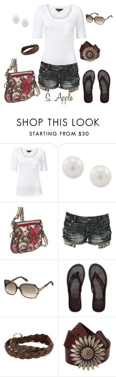 """Untitled #148"" by sapple324 ❤ liked on Polyvore featuring Great Plains, Carolee, The Sak, Crafted, Roberto Cavalli, Abercrombie & Fitch, Ettika and Martine Wester"