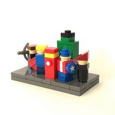 Infinitely small LEGO Avengers