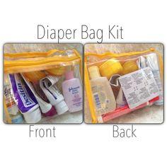 Walking with Dancers: Diaper Bag Kit