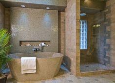 nice master bath