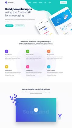 Saas Startup Software Business WordPress Theme