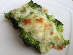 Receta de Brócoli gratinado light