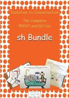 This Bundle has 25 pages for initial, medial and final positions..Activities for every step of the hierarchy.  Check out our From Isolation to Conversation series