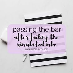 How to pass the Bar exam, how to improve MBE scores, what to do after a bad simulated MBE, how to fix a low score on a practice MBE, Bar passage tips that work, Bar tips for law students, how to increase MBE scores, MBE practice tests, MBE flashcards, last minute bar exam tips | brazenandbrunette.com Study Help, Study Tips, Finals Week College, College Life, College Problems, Exams Tips, Exam Study, I Passed, Teaching Biology