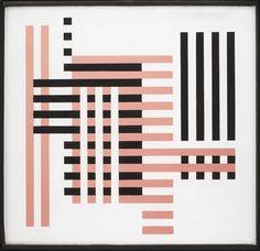Josef Albers, Bundled - Gebundelt, 1925 (ca. Josef Albers, Anni Albers, Bauhaus Textiles, Bauhaus Design, Op Art, Geometric Shapes, Modern Art, Abstract Art, Illustration Art