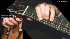 La Paloma: easy guitar lesson + TAB! Learn to play