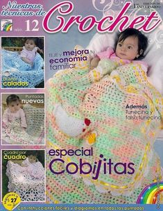 Crochet Knitting Handicraft: BLANKETS FOR THE SMALLEST