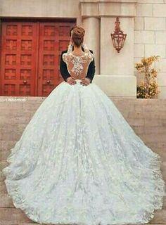 55 Breathtaking Disney Princess Wedding Dress to Fullfill your Wedding Fantasy - VIs-Wed Princess Wedding Dresses, Dream Wedding Dresses, Bridal Dresses, Wedding Gowns, Lace Wedding, Puffy Wedding Dresses, Wedding White, Luxury Wedding, Wedding Venues