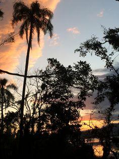 Pôr do sol na Praia do Rosa - Lagoa de Ibiraquera!