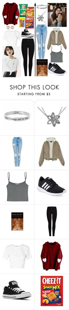"""""""Day 4: Brenna Lovell-Road Trip with Bestie"""" by andromeda07 ❤ liked on Polyvore featuring Disney, adidas, T By Alexander Wang, Converse and Nordstrom Rack"""