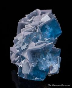 Fluorite -- Weishan REE Mine, Weishan Co., Shandong Prov., China