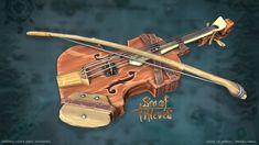 Sea of Thieves: Fiddle (unofficial) James Crosbie on ArtStation at www.artstati
