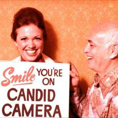 Candid Camera TV show. I still think my true calling is to be a writer for this show! I think like this! My Childhood Memories, Great Memories, Childhood Movies, School Memories, 1970s Childhood, Just In Case, Just For You, Photo Vintage, Vintage Tv