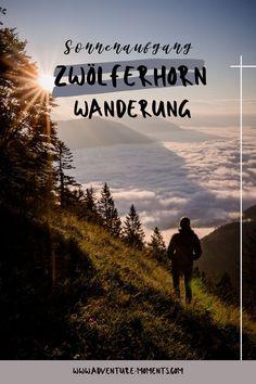 Die Wanderung auf das Zwölferhorn ist eine wunderschöne Tour mit verschiedenen Varianten für den Auf- und Abstieg und nicht nur bei Wanderern, sondern auch bei Mountainbikern, Paragleitern und im Winter bei Skitourngeher sehr beliebt. Oben angekommen wird man mit einem herrlichen Bergpanorama und mit einem wunderschönen Ausblick auf die umliegenden Seen und Almen belohnt. Seen, In This Moment, Adventure, Beach, Winter, Movie Posters, Travel, Outdoor, Sunrise