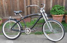 KC's Kruisers - Motorized Bike Forum - BIG GUY (custom Nirve classic cruiser)
