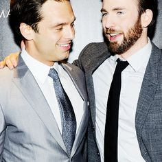 """Chris Evans: """"Sebastian Stan...who's just like the sweetest kid on the planet."""""""
