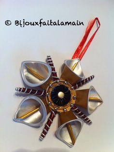 DIY Nespresso: Comment faire une étoile dorée pour Noël.