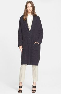 Nordstrom Signature and Caroline Issa 'Tweedsmuir' Cashmere Duster available at #Nordstrom