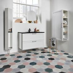 Everything you need to know about ceramic floor tiles. Image by Kvik.