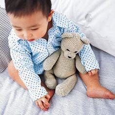 free knitted bear pattern