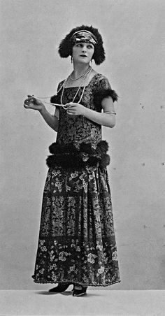 Robe de diner par Lucile, 1923