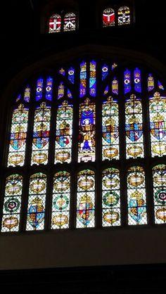 Window in the great hall hampton court
