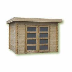 Abri de jardin en bois Coline modèle 8.9 m² - Cémonjardin - CMJ700131