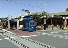 New streetcars in Tucson, AZ  Do not  know  how I feel about this...time will tell.