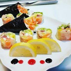Venha deliciar-se com o nosso sushi mas também da cozinha portuguesa ;) Faça já a sua reserva: http://wokone.pt/reservas