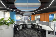 Office Interior Design, Office Interiors, Green Homes, Coworking Space, Workspaces, Pune, Design Firms, Interior Architecture, Design Inspiration