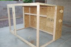 Homemade 4x6 Chicken Coop- When I get chickens, I am going to make something like this... if it's cheaper.